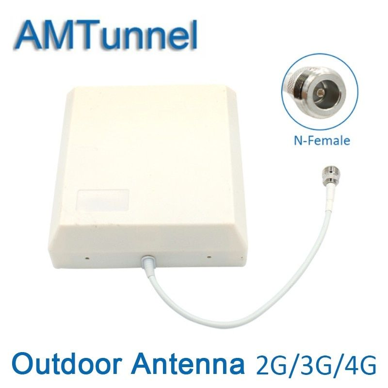 4G antenna 4G LTE antenan 3G outdoor antenna 8dBi GSM panel antenna with N-female connector for signal booster repeater