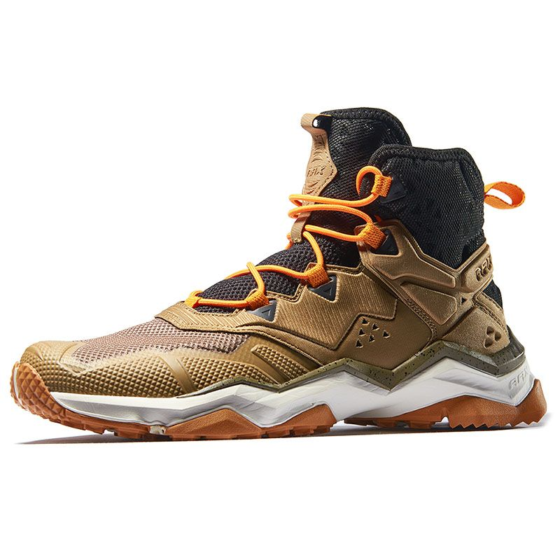 Rax Men's Mountain Shoes Breathable Air Mesh Hiking Shoes Non-slip Durable Walking Sneakers Men Shoes Summer Spring Outdoor Shoe