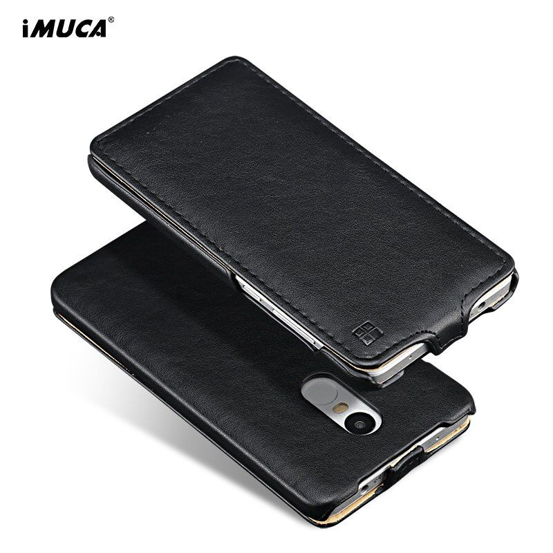iMUCA Flip Phone Case For Xiaomi Redmi Note 4x Case Redmi Note 4 Cover Silicon Leather Wallet Case for Xiaomi Redmi Note 4x Pro