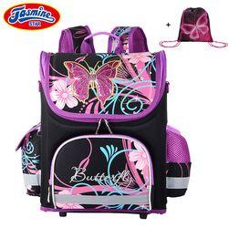 JASMINESTAR kinder Rucksack Kinder Cartoon Schule Taschen Für Jungen Anime Schule Rucksack Für Mädchen Orthopädische Schul