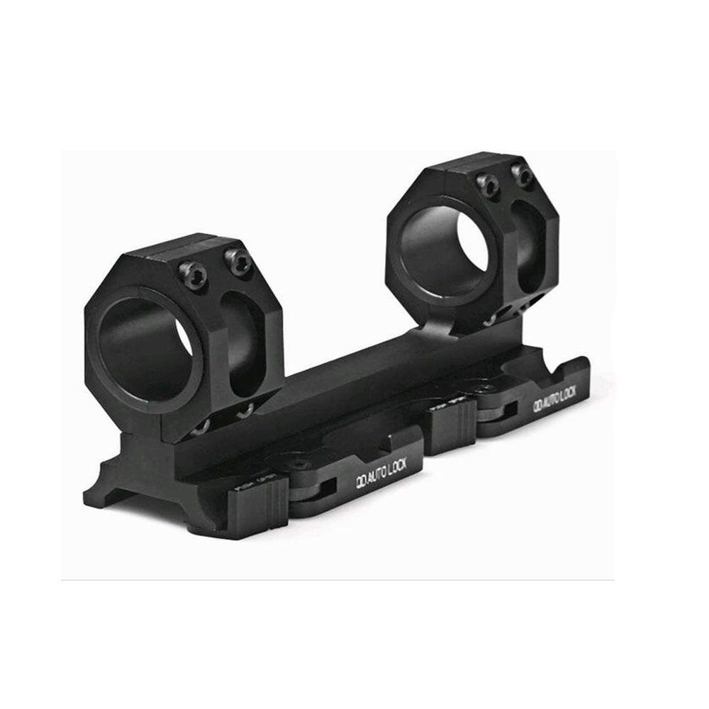 TENSDARCAM 25,4mm 30mm Dual Ring Cantilever HeavyDuty Umfang Mount Schnellspanner Picatinny Weaver Schiene Jagd