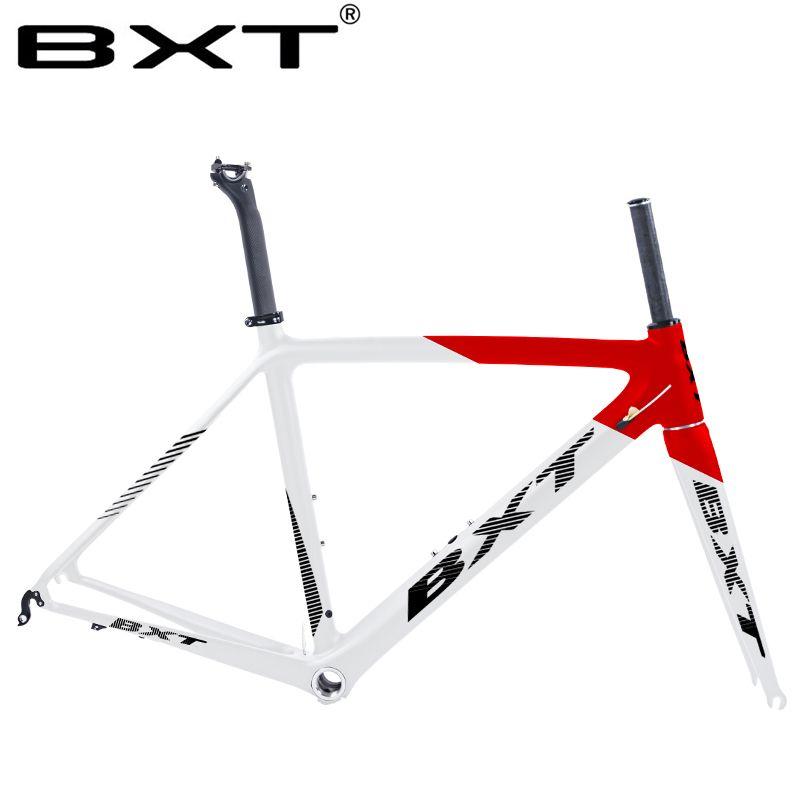 2019 neue BXT T800 carbon rennrad rahmen radfahren fahrrad frameset super licht 980g Di2/mechanische racing carbon straße rahmen