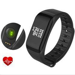 F1 Fitness relojes presión arterial banda inteligente Pulsometro salud pulsera inteligente pulsera Fitness Pk fitbits