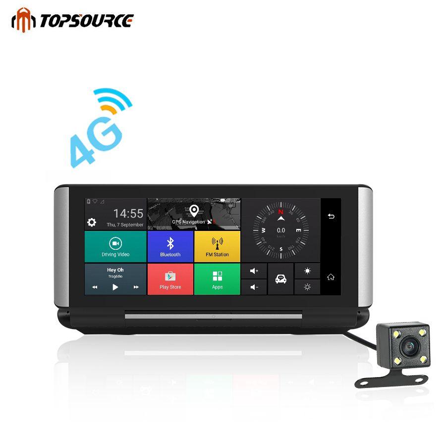 TOPSOURCE Pro Car DVR GPS 3G/4G 6.86