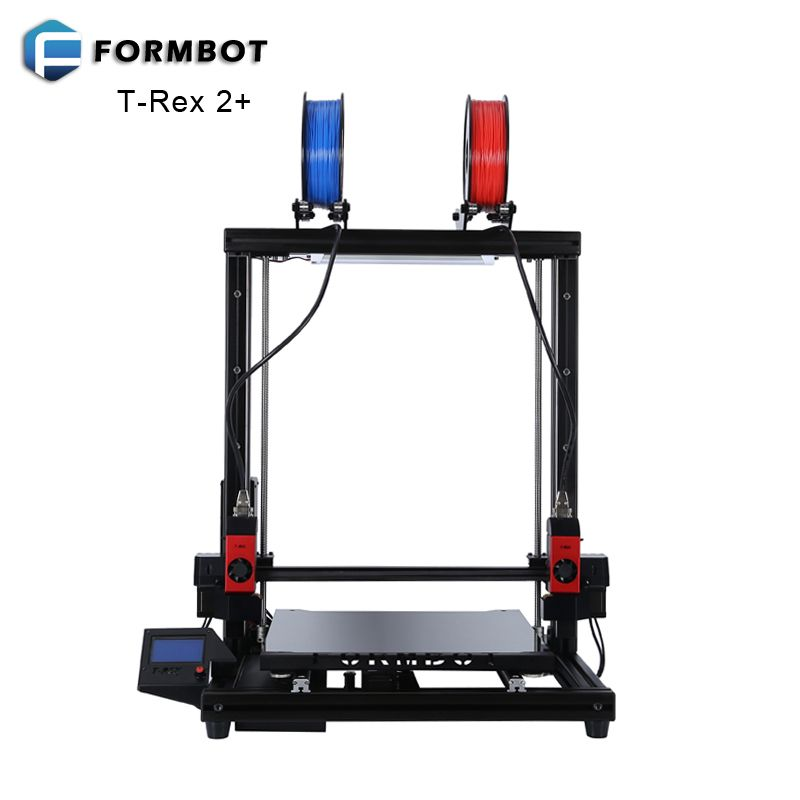 FORMBOT T-Rex 2+ Large Format 3D Printer with 400x400x500mm Build Size