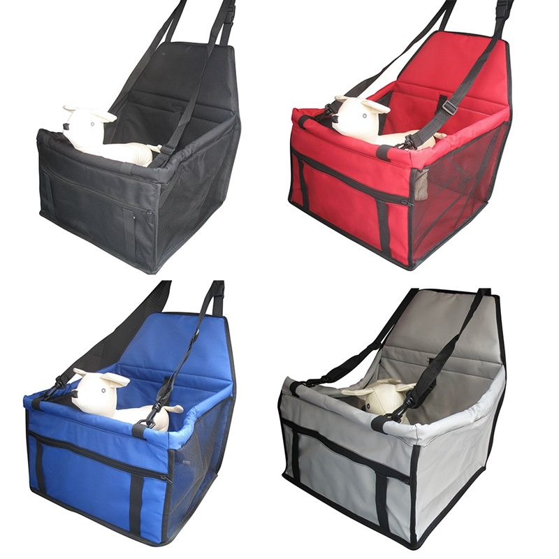 Dog Bag Pet Car <font><b>carrier</b></font> Dog Car Booster Seat Cover Carrying Bags for Small Dogs Outdoor Travel