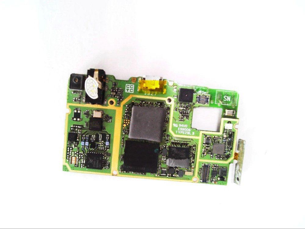 Utilisé la carte mère carte mère conseil avec volume up/down bouton flex câble FPC pour Lenovo p780 téléphone portable 4 GB ROM