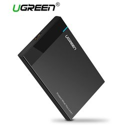 Ugreen HDD Case 2.5 inch SATA to USB 3.0 SSD Adapter for Samsung Seagate SSD 1TB 2TB Hard Disk Drive Box External HDD Enclosure