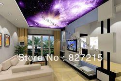 U-506 фантастические космические облака пленочная фотоформа потолочная мода декоративный материал для потолочной плитки