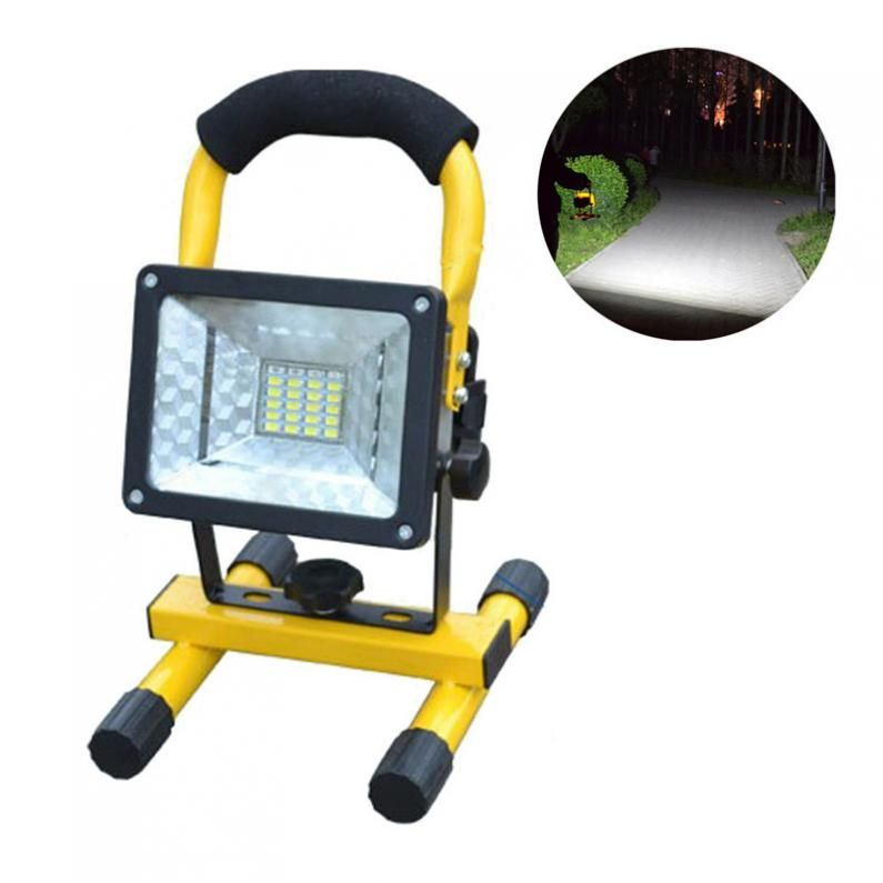 Sale 20W 24 LED <font><b>Flood</b></font> Light Portable Outdoor Waterproof IP65 Emergency Lamp Work Light