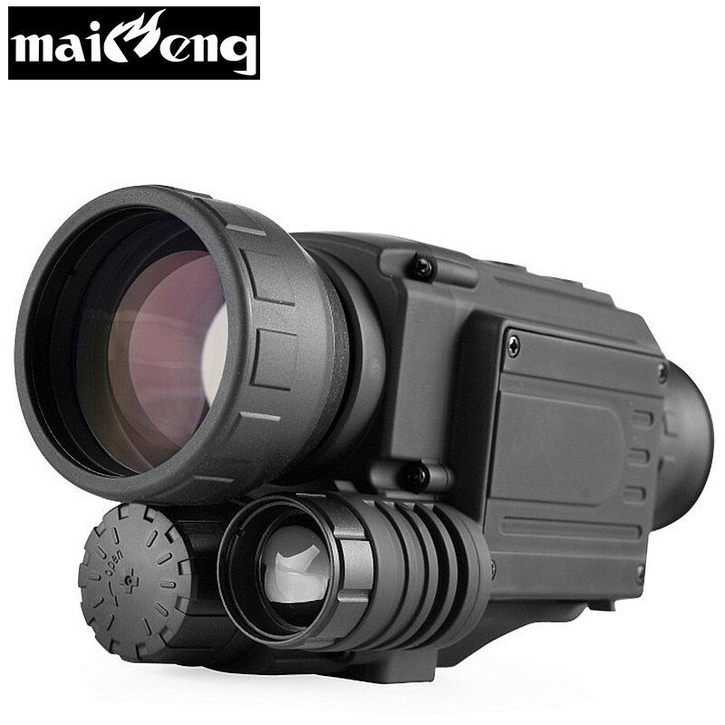 2018 upgrade Infrared Night Vision Monocular scope for Hunting at night High times long range hd with built-in Camera shooting