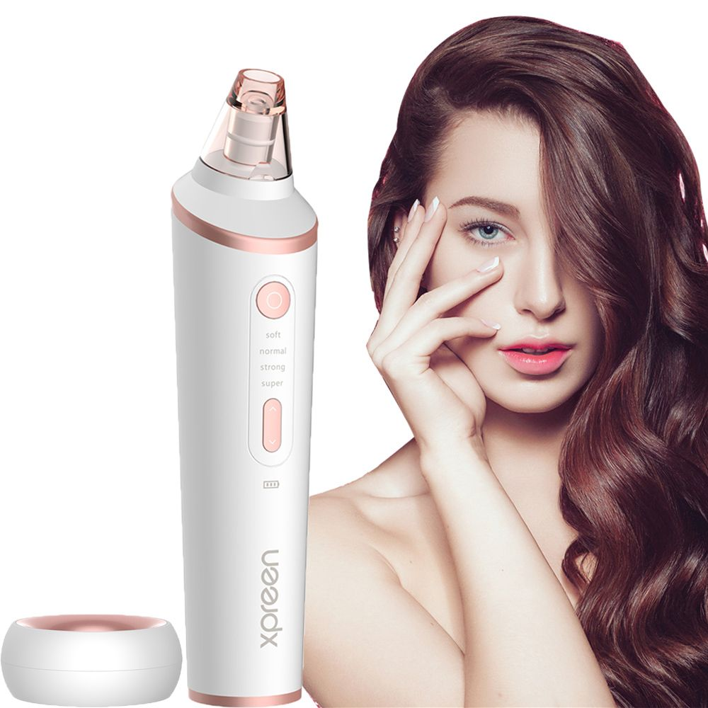 XPREEN Pore Cleanser Wireless Charging Comedo Remover Blackhead Extractor Blackhead Remover with LED Lighting Function
