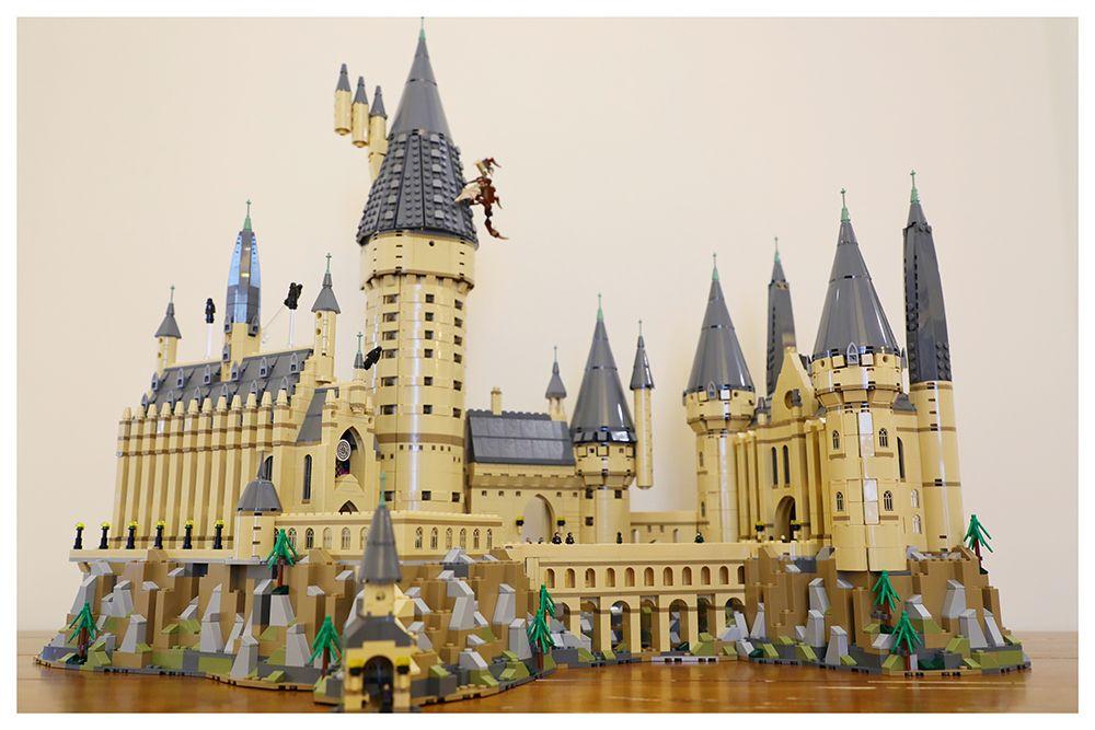 Neue Harry Potter Magie Hogwarts Castle Kompatibel Legoing Harry Potter 71043 Bausteine Ziegel Kinder Weihnachten DIY Spielzeug