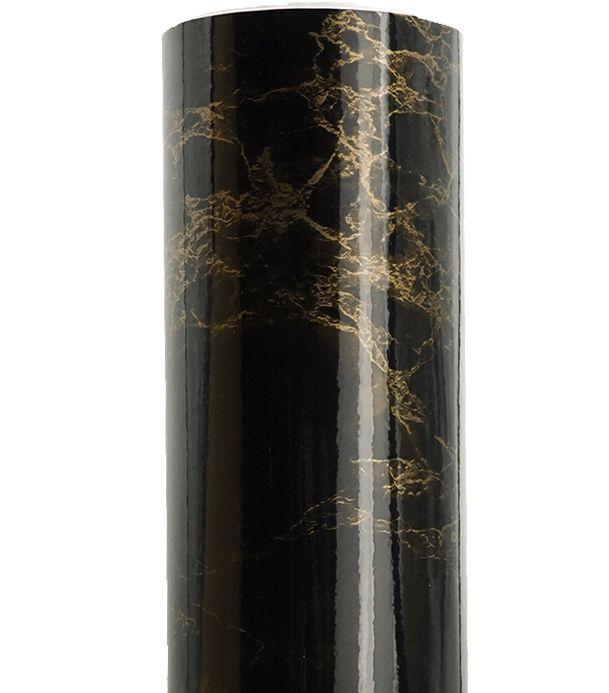 Золото в черный Мрамор самоклеющиеся Водонепроницаемый обои виниловые, свяжитесь Бумага стены Стикеры