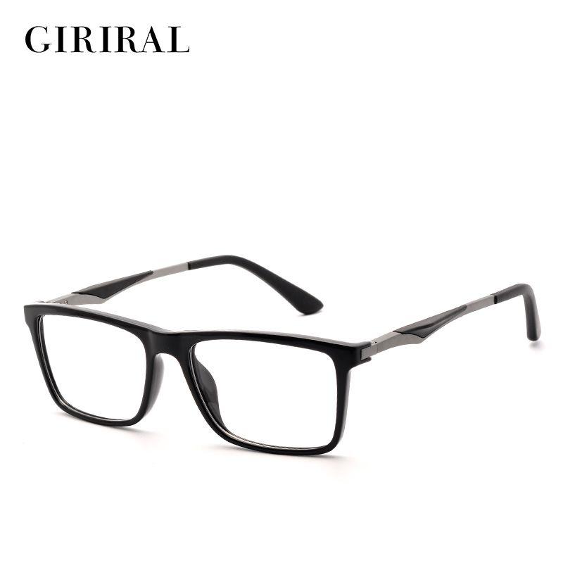 TR90 hommes lunettes cadre vintage optique marque myopie designer clair lunettes cadre # YX0140