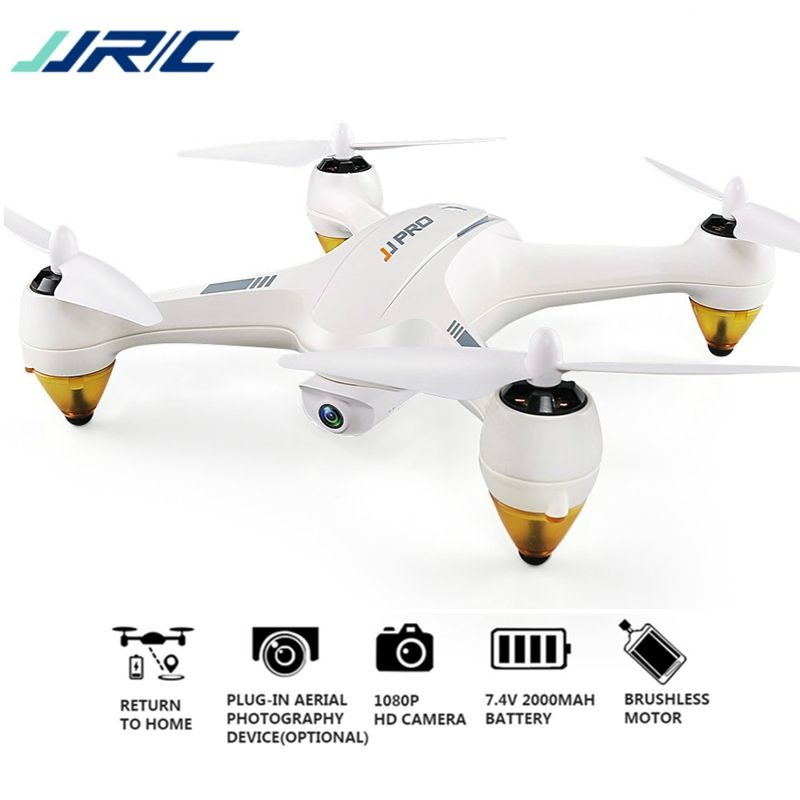 JJRC JJPRO X3 HAX RC Quadcopter Dron Dual-Mode Wifi FPV GPS RC Quadcopter Toy Drones With Camera HD 1080P Brushless RTF