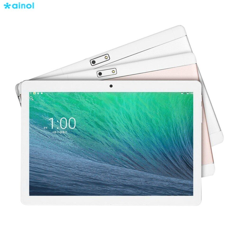 Ainol 3G Phone Call Smart Tablets 10.1 inch HD IPS Touch screen Android 6.0 800*1280 16GB ROM Dual SIM Metal Case Wifi GPS OTG