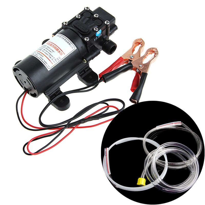 Free delivery New 1 Set DC 12V 5L Transfer Pump Extractor Oil Fluid Scavenge Suction Vacuum For Car Boat High Quality