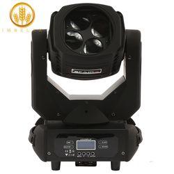 Imrelax 4*25 W LED Super Beam Moving Head Light Kuat Beam Efek Pencahayaan Lampu LED Moving Head Disko Panggung cahaya