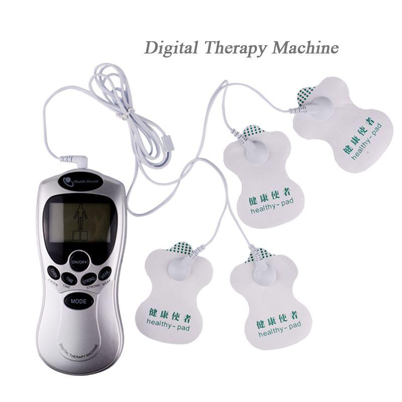 4 Façons Des Dizaines Masseur Thérapie Machine Corps Minceur Masseur Impulsion Acupuncture electronica massage électrode