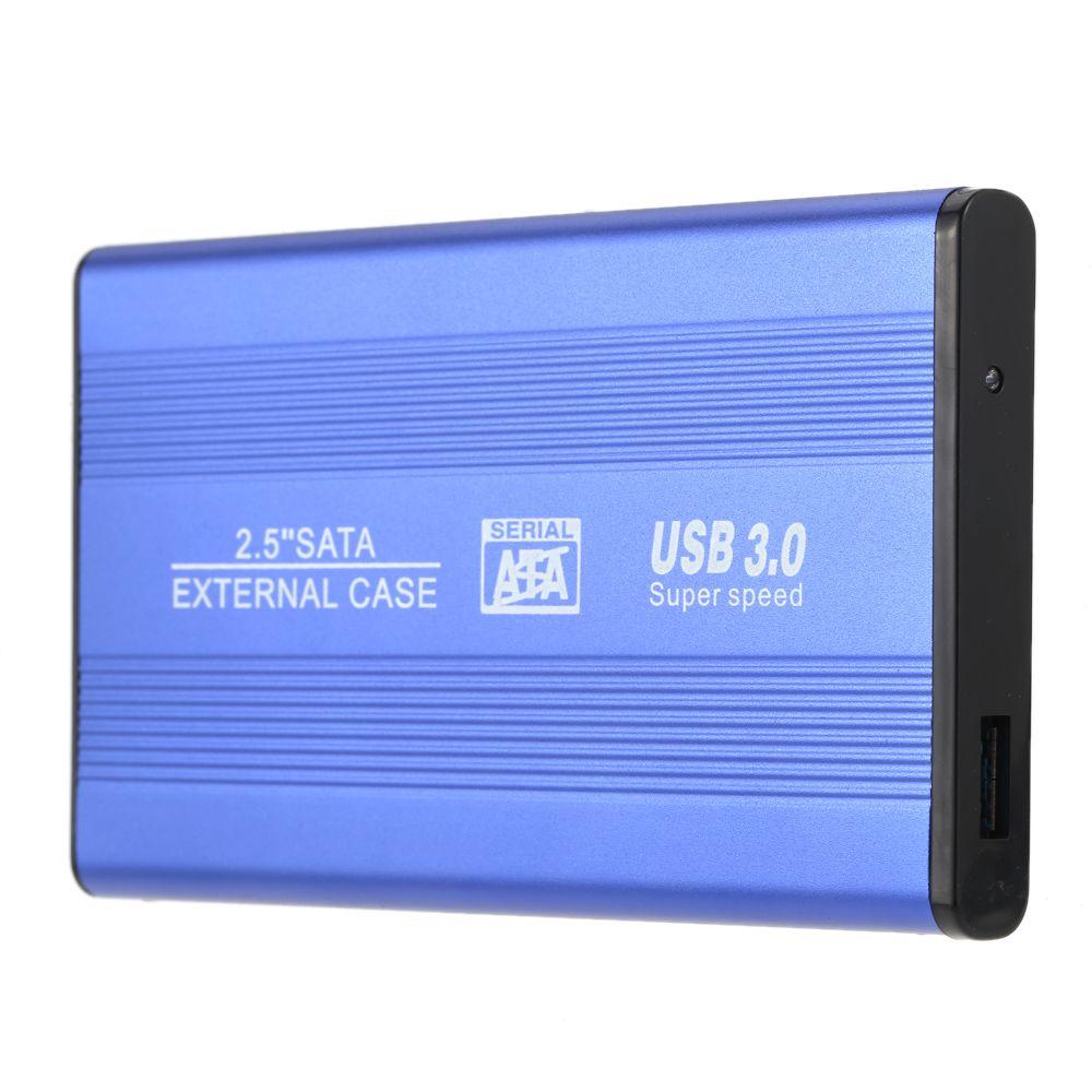 USB 3.0 HDD SSD SATA External Aluminum 2.5