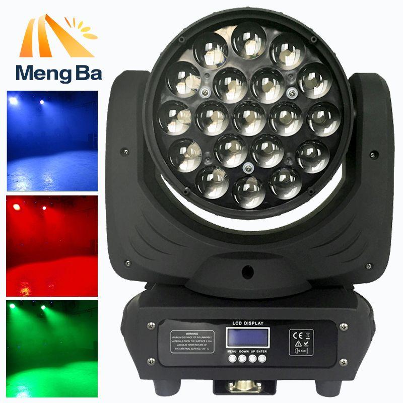 19x12w Led RGBW Wash/Zoom Light DMX512 Moving Head Light Professional Wedding light /DJ /Bar /Party /Show /Christmas light