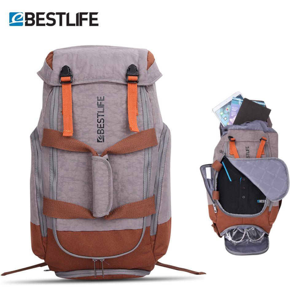 Extérieur étanche Camping Climing voyage sac à dos pour hommes femmes randonnée bagages sacs sac à dos sac à dos pour ordinateur portable grand sac Pack 34L