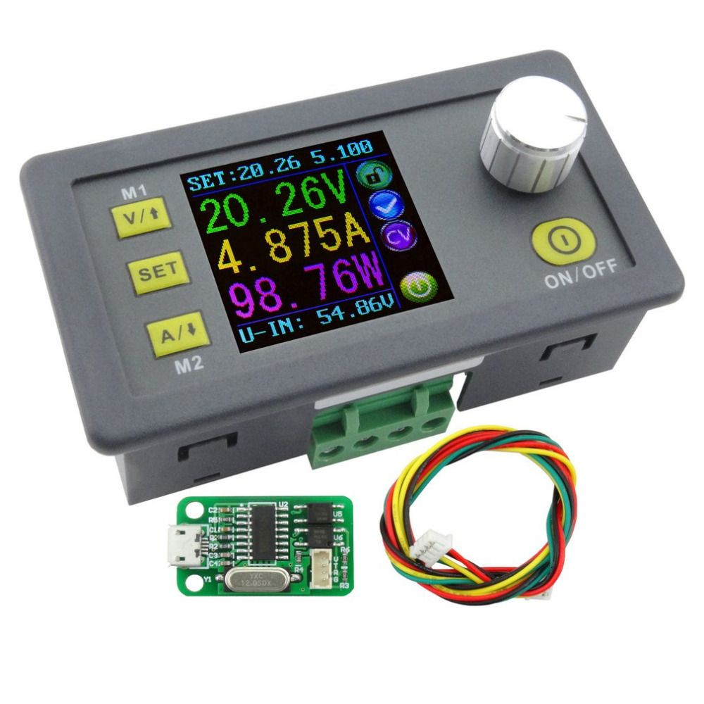 New DPS3005 Voltage Converter LCD Voltmeter Communication Function Constant Voltage Current Step-down Adjustable DC Power Supply
