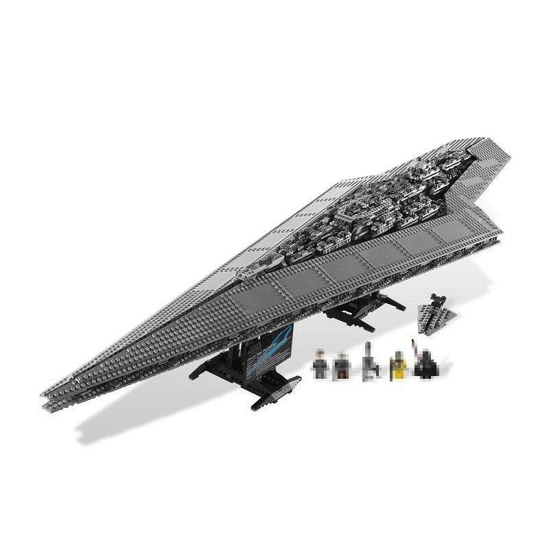 Lepin 05028 Star 3208Pcs Wars Imperial Executor Super Star Destroyer Model building Blocks Toys for kids Compatible Legoed 10221