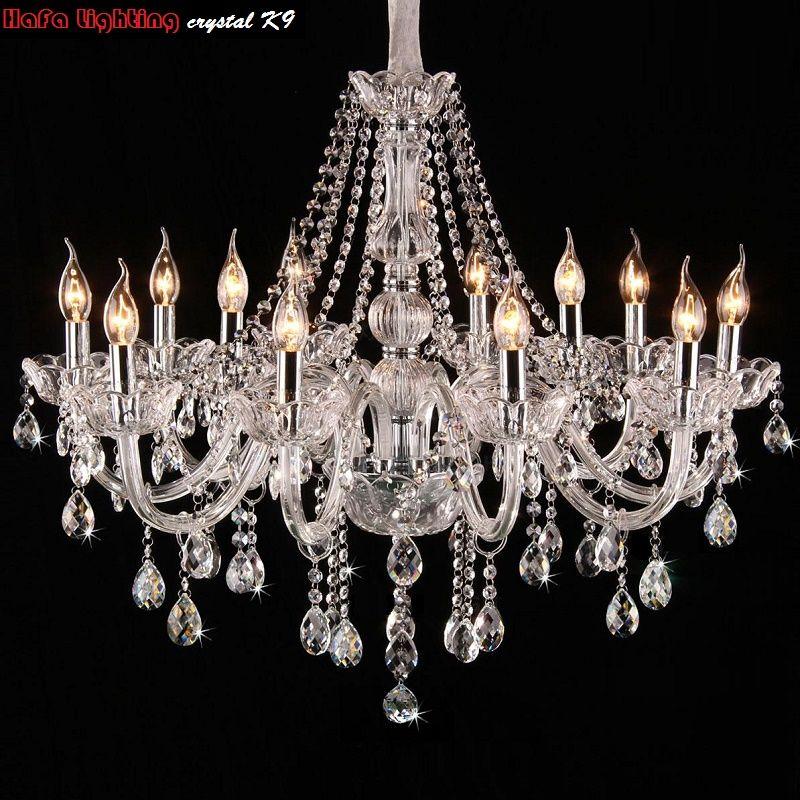 Lustre lumière Moderne Lustres en cristal éclairage moderne lustre Pour salle à manger chambre salon cristal lumières