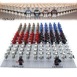 21 Pcs/lot Star Wars Storm Trooper 7668 Shadow Stormtrooper Clone Trooper Darth Vader Mini Mainan FIG Kompatibel Legoe Sw188