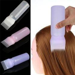 Женская Мода волос бутылка для краски аппликатор кисть дозирования салонное окрашивание волос инструменты для окраски волос 120 мл