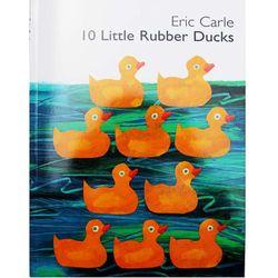 10 Sedikit Karet Bebek Oleh Eric Carle Gambar Buku Buku Cerita Kartu Pembelajaran Pendidikan Bahasa Inggris Untuk Anak-anak Anak-anak Bayi Hadiah