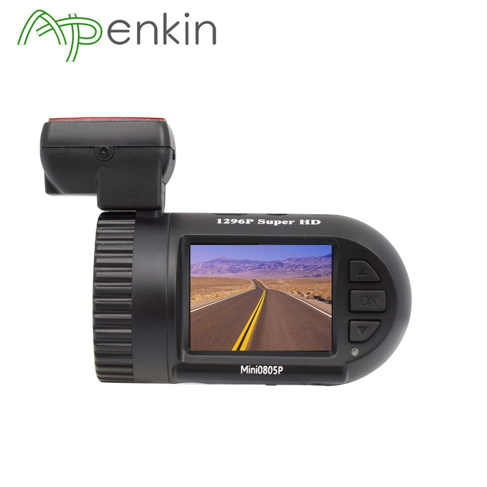 Arpenkin Mini 0805P Car Dash Camera 1296P 30fps GPS WDR Car DVR Video Registrar Parking Sensor Voltage Safe Capacitor Night View