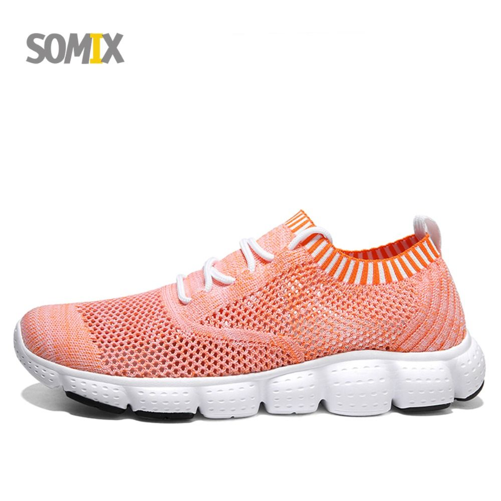 Somix Men's Running Shoes 2018 Lightweight Sock Dart Sports Sneakers Breathable Outdoor Sports Jogging Athletics Shoes for Men