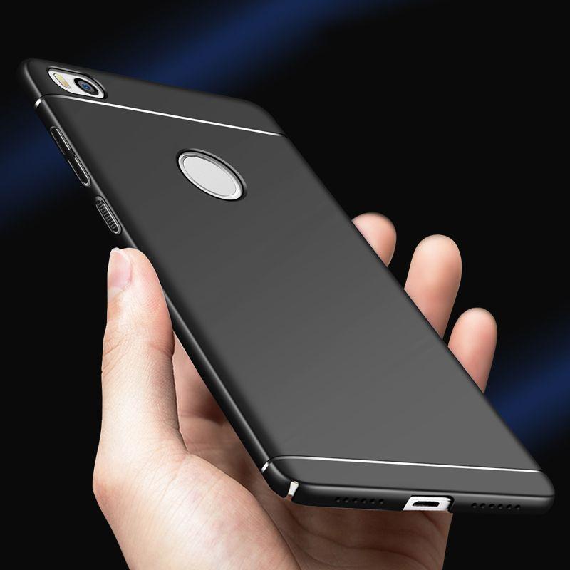 Pour Xiaomi mi max 2 cas De Luxe Dur Retour Protecter Cas En Plastique mat PC Cas de Couverture Pour Xiaomi mi max 2 Couverture Arrière Funads