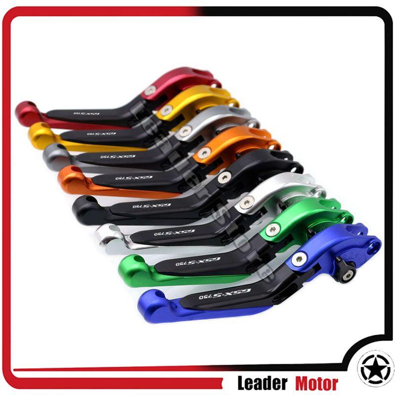 For SUZUKI GSX-S750 GSX S750 GSX-S 750 GSXS750 2011-2016 Motorcycle Folding Extendable Brake Clutch Levers 20 Colors