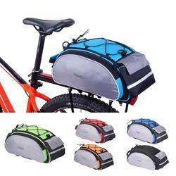 ROSWHEEL велосипедный 13L Сумка-переноска велосипедная вешалка багажник для велосипеда корзина багажника заднее сиденье сумка на багажник Вело...