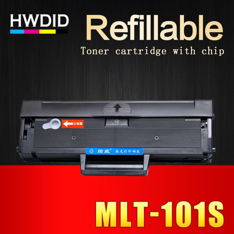 HWDID 1Pcs MLT-D101S mlt d101s D101 101 toner cartridge EXP chip for Samsung ML 2160 2165 2166W SCX 3400 3401 3405F 3405FW 3407