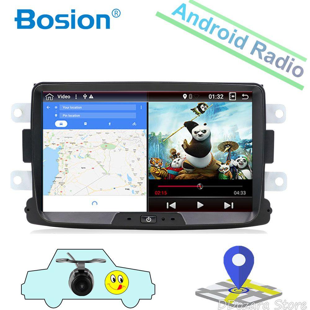 32G 2 din radio GPS Navi Radio Für DUSTER Dacia Logan Sandero Xray 2 Auto radio Zentralen Kassette Player rückansicht kamera karte