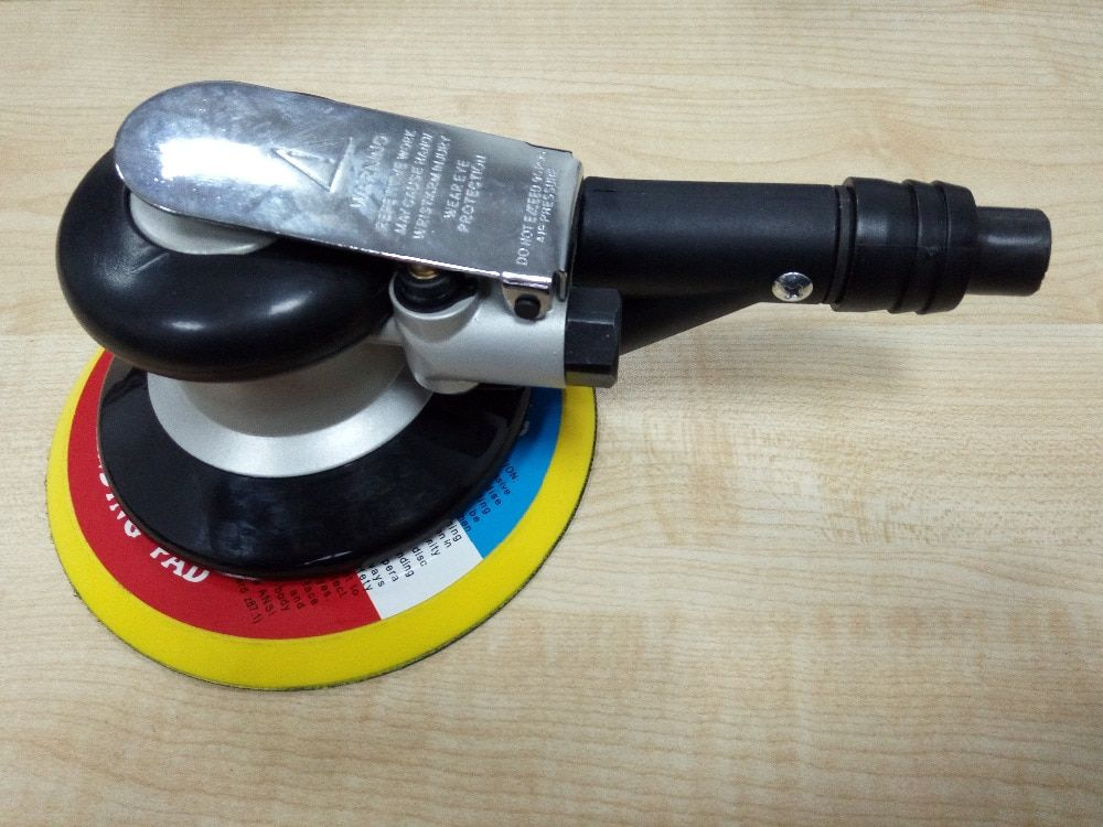 6 pouce air ponceuse avec vide 150mm pneumatique ponceuse 6