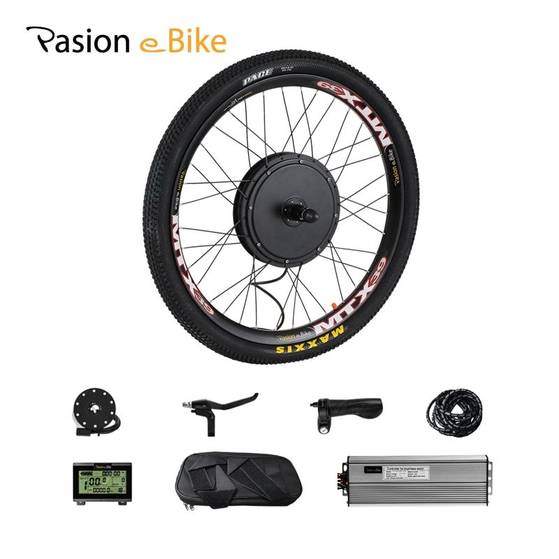 Pasion E BIKE Conversion Kit 48 V 1500 W Kassette Elektrische Bike Conversion Kit 1500 W Motor-Rad Elektro Fahrrad hub Motor Kit