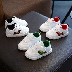 Bavoirsj En Bas Âge Chaussures Bébé Appartements Chaussures Noir Rouge Vert Feuilles Creux Ventilation Garçons Filles Causual Chaussures
