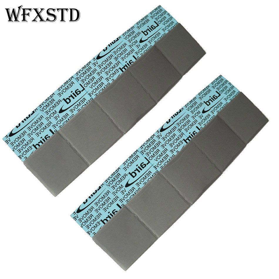 100Pcs 1mm Silicon Thermal Pad For LAIRD notebook graphics memory Beiqiao thermal silica thermal pad flex740 thermal pad