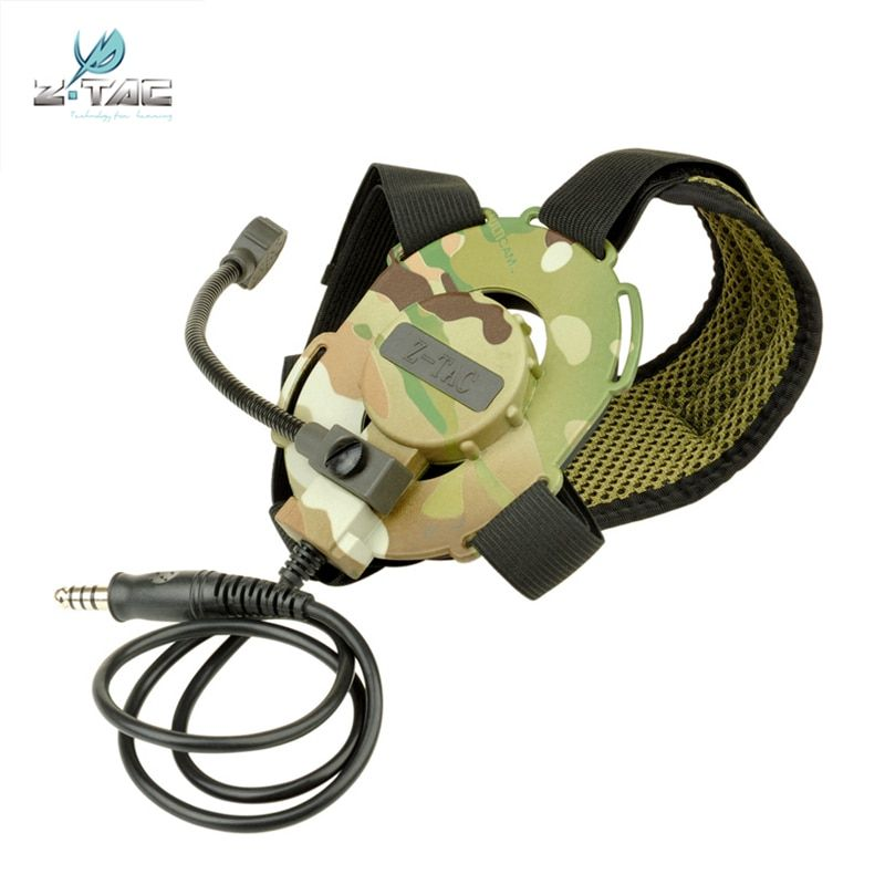 Z tactical Bowman Military Headset Evo III Hunting Tactical headphones  For Airsoft Z029