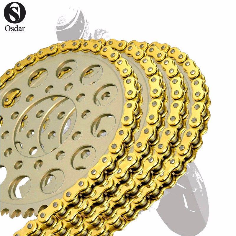 Motorcycle Drive Chain O-Ring 520 L120 For SUZUKI GSX250 ET, T 80-81 GSX250 ( T / L ) 81-82 GSX250 ( T / L ) 83- GSX250E 80-81