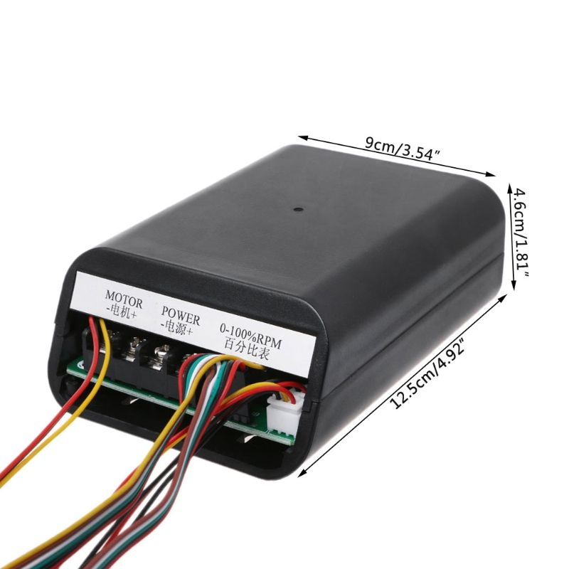 DC10-55V MAX 60A PWM Motor Speed Controller 0~100% Adjustable Drive Switch Board