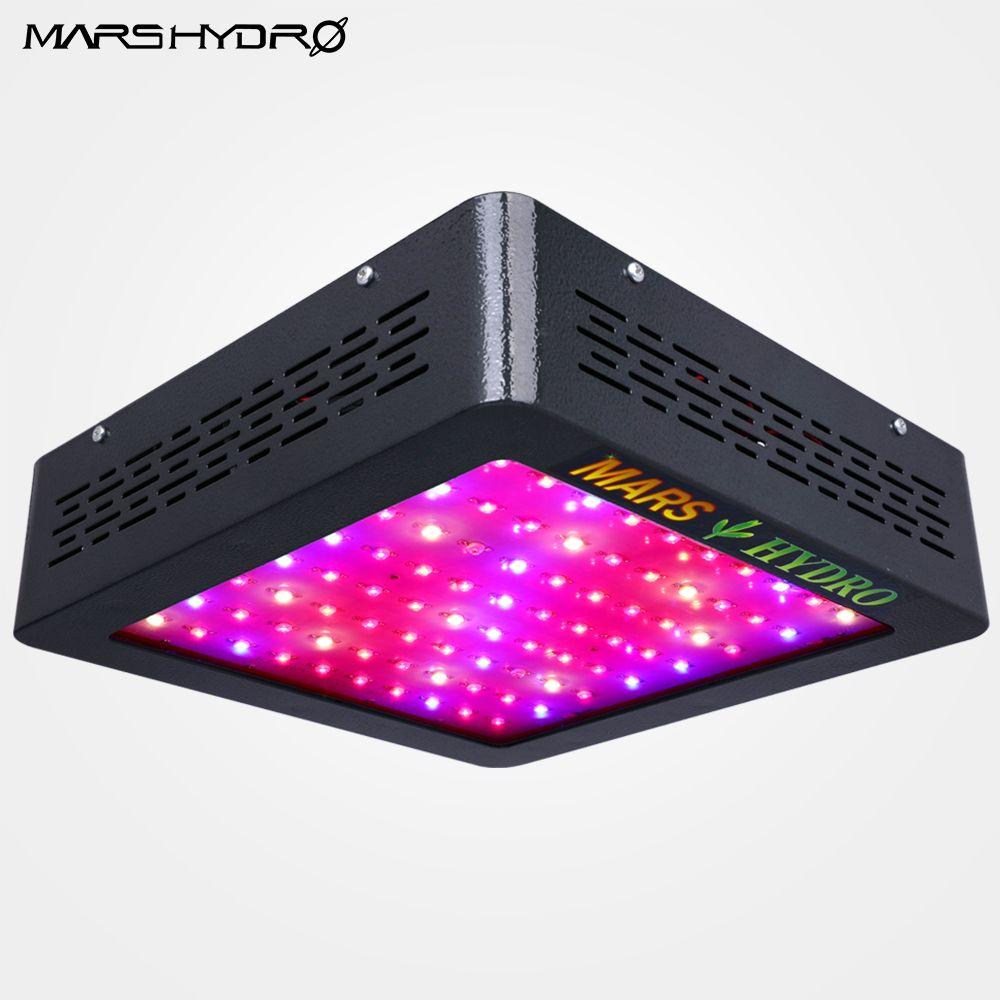 Mars Hydro Mars II 400 watt LED Wachsen Licht Lampe Full Spectrum-Panel Veg Blüten für Medizinische Indoor-Anlage