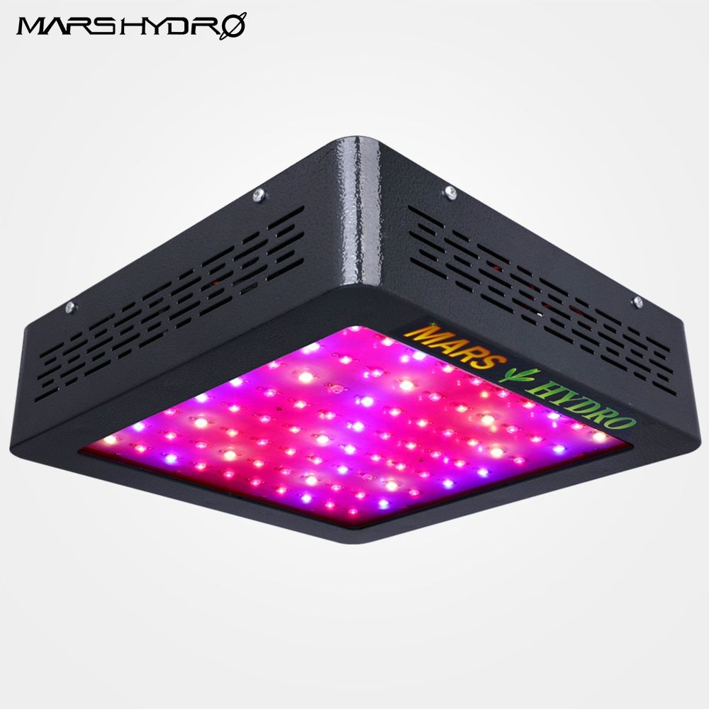 Mars Hydro Mars II 400w LED Grow Light Lamp Full Spectrum Panel Veg Flower for Medical Indoor Plant