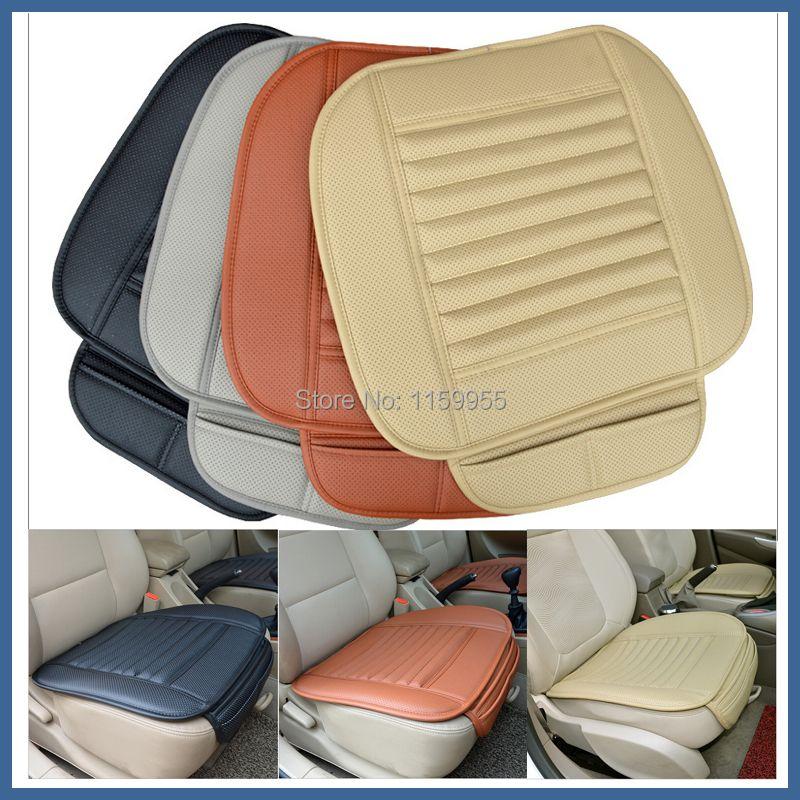 Fournitures de voiture housses de siège de voiture été premium coussin de siège de voiture, bambou charbon de bois cuir monolithique reiz K5 A4 A5 coussin de siège